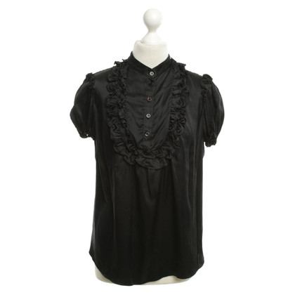Moschino Silk blouse in black