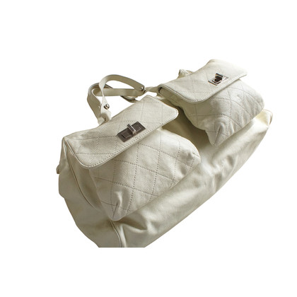 Chanel Multi zak zak kaviaar leder