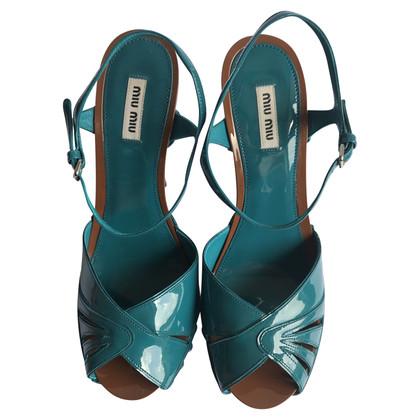 Miu Miu Sandals with plateau