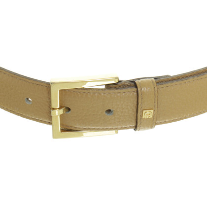 Aigner Belt with gold buckle