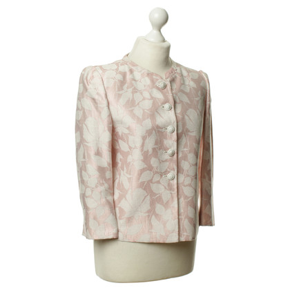 Armani Collezioni Blazer mit floralem Muster