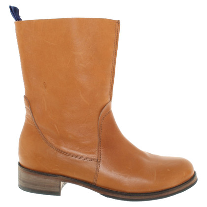 Boss Orange Leather boots in brown