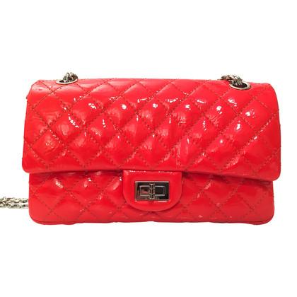 """Chanel """"2.55 Double Flap Bag Small"""" aus Lackleder"""