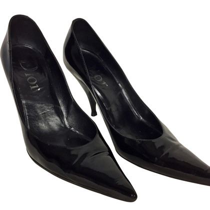 Christian Dior pumps in patent leather