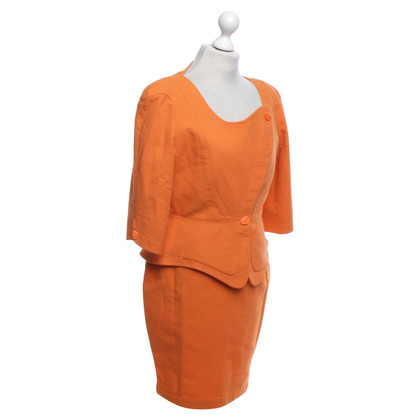 Mugler Costume in orange
