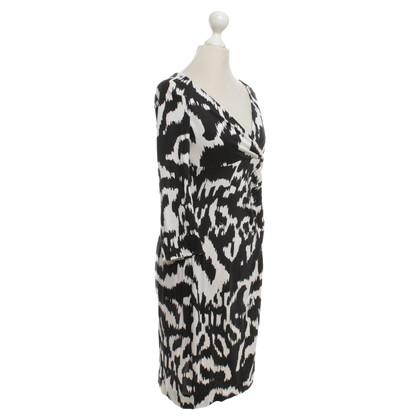 Diane von Furstenberg Dress in black and white