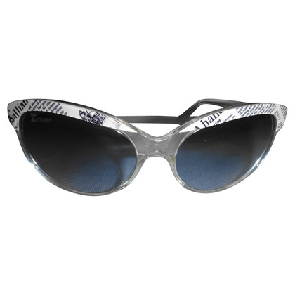 John Galliano Sunglasses with motive print