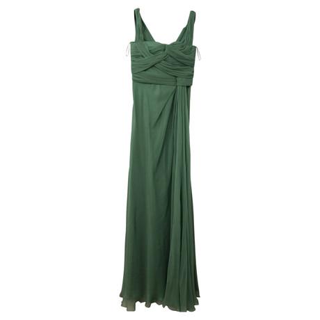 Kleid Alberta Ferretti Gr眉n Langes Alberta Ferretti PIq41v8