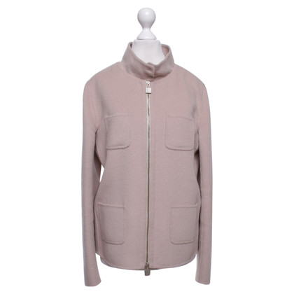 Max Mara Kort jasje in stoffige roze