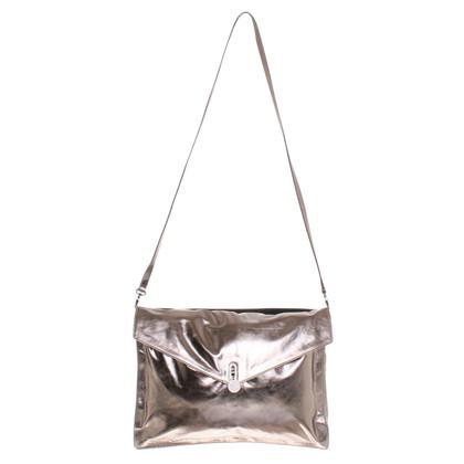 Karl Lagerfeld Metallic-kleurige schoudertas