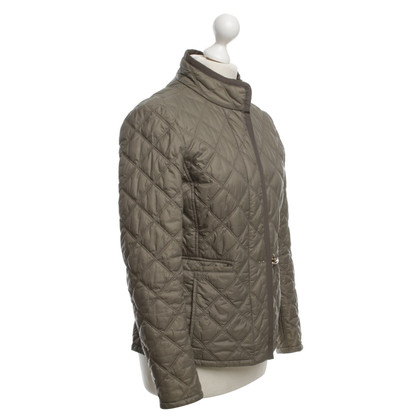 Fay Quilted Jacket in Khaki