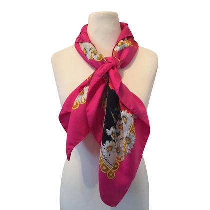 Dolce & Gabbana Zijden sjaal afdrukken