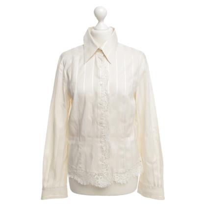 Marc Cain Details van zijde en lace blouse