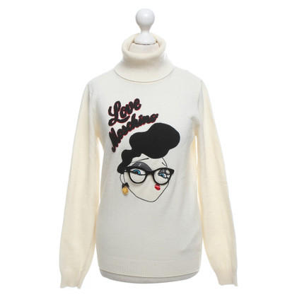 Moschino Love Turtleneck sweater with motif