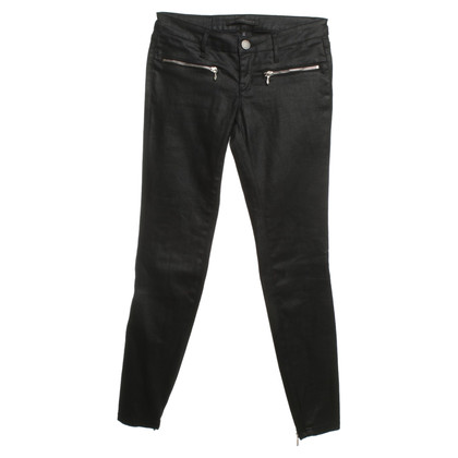Victoria Beckham Black jeans with zippers