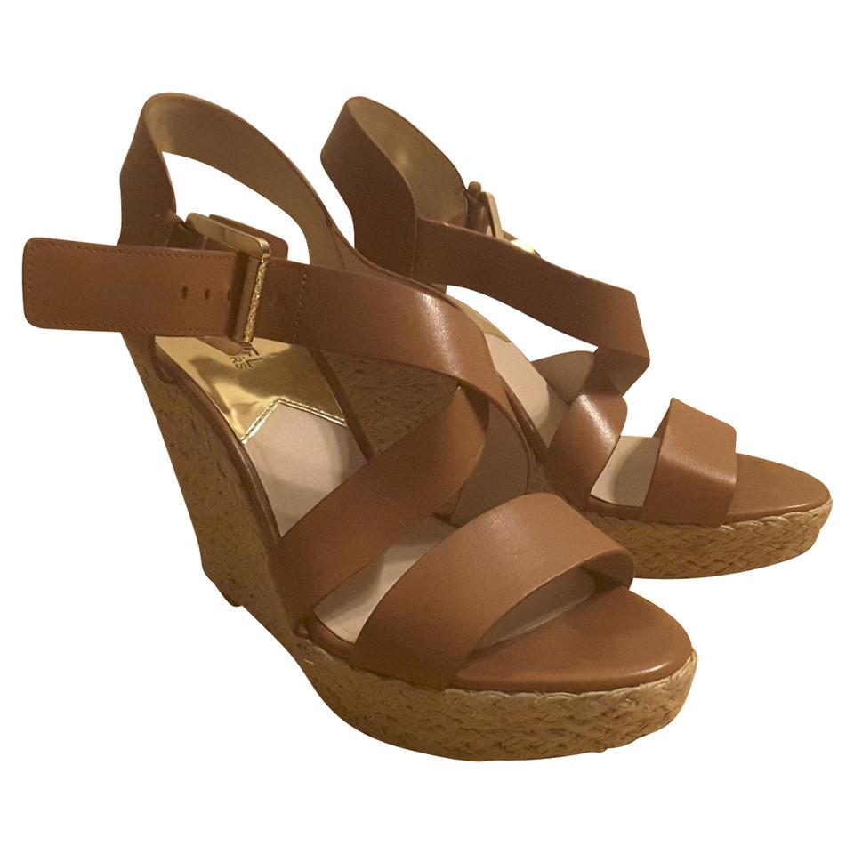 michael kors sandaletten second hand michael kors sandaletten gebraucht kaufen f r 125 00. Black Bedroom Furniture Sets. Home Design Ideas