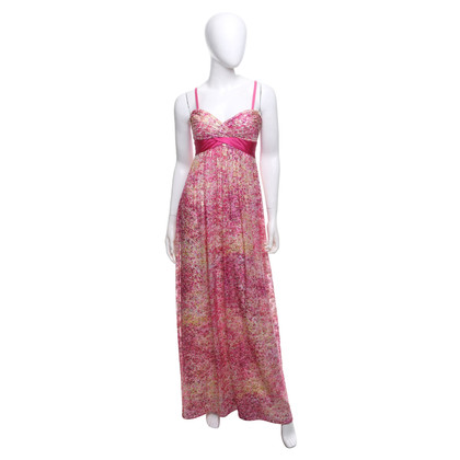 BCBG Max Azria Evening dress with a floral pattern