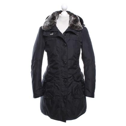 Peuterey Coat in zwart