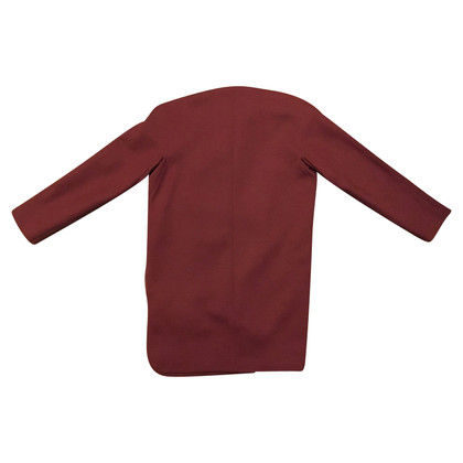 Balenciaga Coat in Bordeaux
