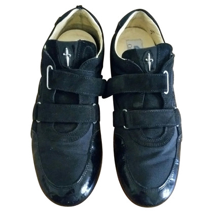 Cesare Paciotti Black suede shoes