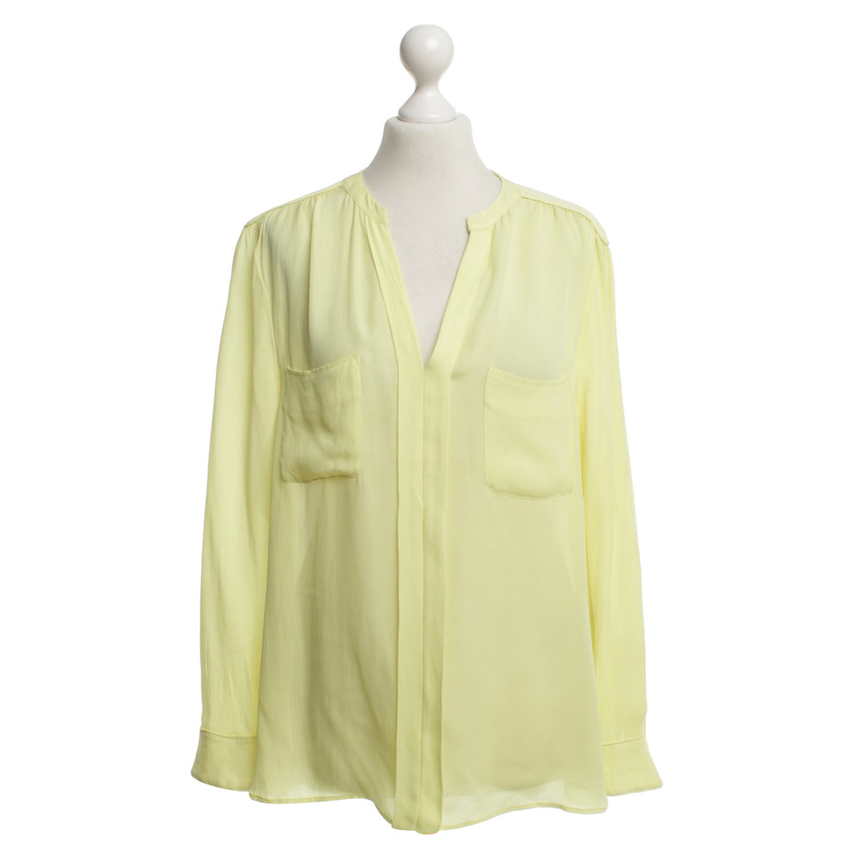 Laurèl Blouse in lemon yellow