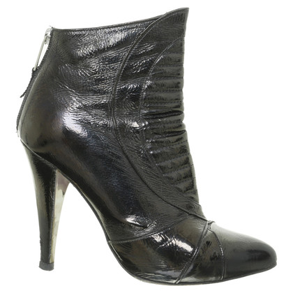 Versace Ankle boot in patent leather
