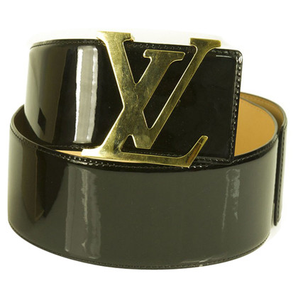 "Louis Vuitton Belts ""Initial"" Patent Leather"
