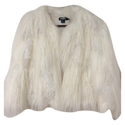 DKNY Faux fur jacket