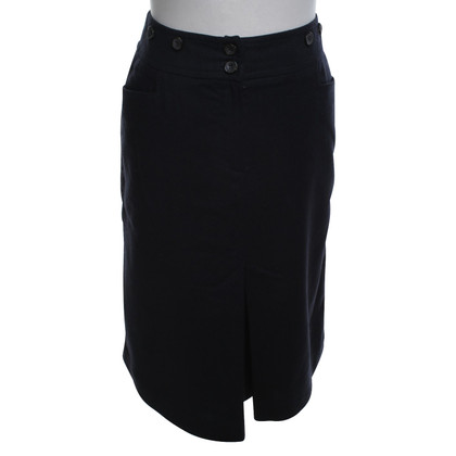 Max Mara skirt in dark blue