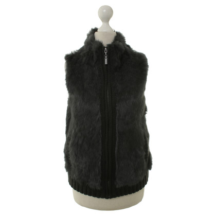Bloom Rabbit fur vest