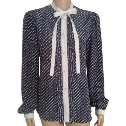 Dolce & Gabbana Zijden blouse met strik