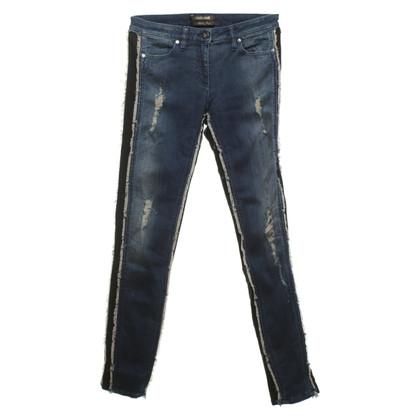 Roberto Cavalli Jeans im Destroyed-Look
