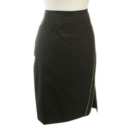 Versace Pencil skirt with zipper element