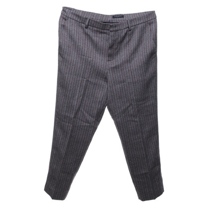 Strenesse trousers with herringbone pattern