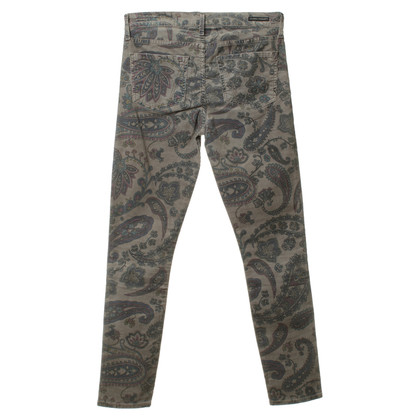 Citizens of Humanity Pants with Paisley pattern