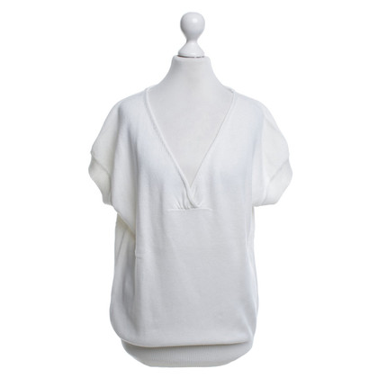 Comptoir des Cotonniers top in white