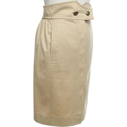 Louis Vuitton skirt in beige