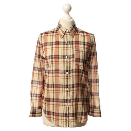 Isabel Marant Etoile Camicia in cotone con Plaid