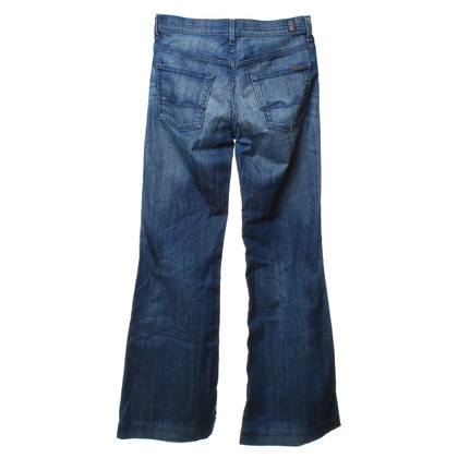 7 For All Mankind Strike pants in blue