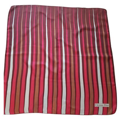 Christian Dior Multicolore foulard de soie
