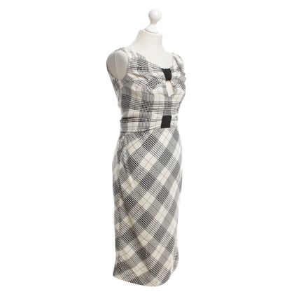 Zac Posen Dress with houndstooth pattern