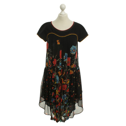 Wunderkind Dress with floral pattern