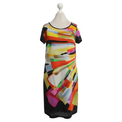 Piu & Piu Dress with colorful pattern