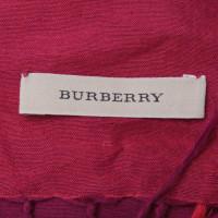 Burberry Sciarpa con motivo a quadri