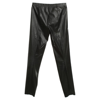 Plein Sud Leggings in Leder-Optik