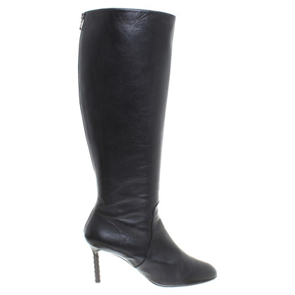 Bottega Veneta Black leather boot