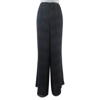 Escada Wide trousers with polka dots