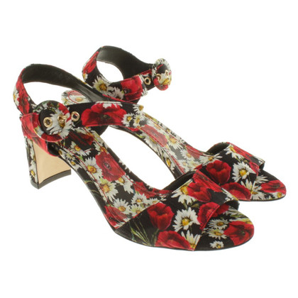 Dolce & Gabbana Sandals with floral print