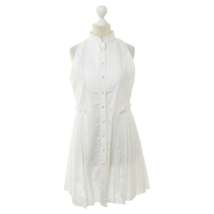 Proenza Schouler White dress with pleats