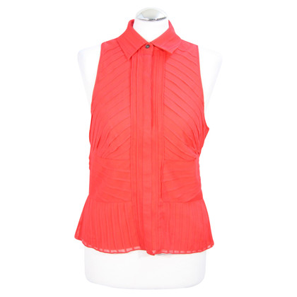 Karen Millen Silk top in red